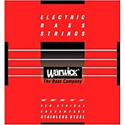 Warwick Red Label 5-String M Low B Stainless Steel Bass Strings