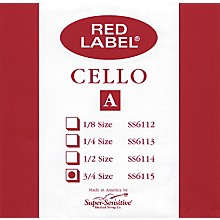 Super Sensitive Red Label Cello A String