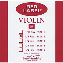 Super Sensitive Red Label Violin E String