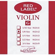 Super Sensitive Red Label Violin G String