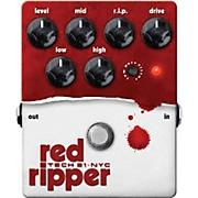 Tech 21 Red Ripper Distortion Bass Effects Pedal