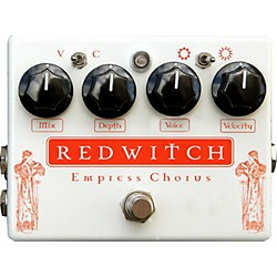 Red Witch Empress Analog Chorus-Vibrato Guitar Effects Pedal (EMPRESS)