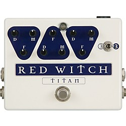Red Witch Titan Delay Guitar Effects Pedal (TITAN)