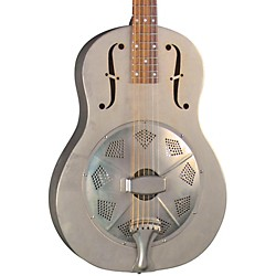 Regal RC-43 Antiqued Nickel-Plated Body Triolian Resonator Guitar (RC-43)