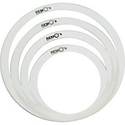"Remo RemOs Tone Control Rings Pack - 10"", 12"", Two 14"""