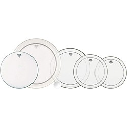 Remo 5-Piece Clear Pinstripe Drumhead Pack (PP-0271-PS-)