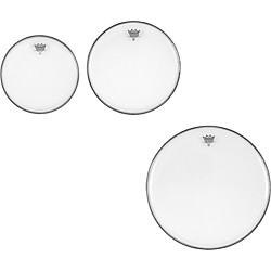 Remo Ambassador Clear New Fusion Tom Drumhead Pack (PP-1380-BA-)