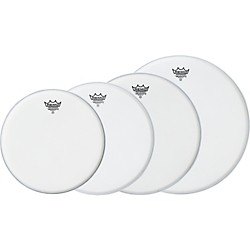 Remo Ambassador X Standard Drumhead Pack, Buy 3 Get a Free 14 Inch Head (Ambassador Standard Promo)
