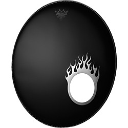 Remo Dynamo Bass Drum Port Graphic (DM-FL05-10-)