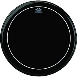 Remo Ebony Series Pinstripe Bass Drumhead (ES-1616-PS-)