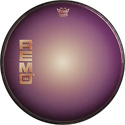 Remo Graphic Heads Purple Sunburst Resonant Bass Drum Head (PA-1022-B1)