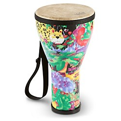 Remo Kid's Percussion Rain Forest Djembe (KD-0608-01-)