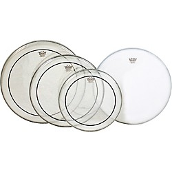 Remo Pinstripe PrePak Drumheads with Coated Snare Head (PP-0312-PS)