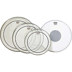 Remo Pinstripe Value Pack with Emperor X Coated Snare Head (PP-0680-PS)