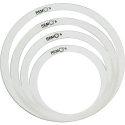 "Remo RemOs Tone Control Rings Pack - 10"", 12"", Two 14"" (RO-0244-00-)"