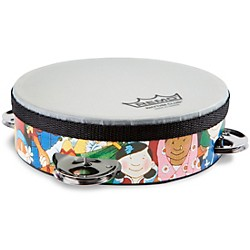 Remo Rhythm Club Tambourine with 4 Sets of Jingles (RH-2106-00-)