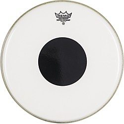 Remo Smooth White Control Sound Top Black Dot (CS-0214-10)