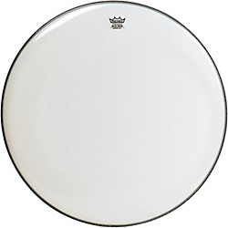 Remo WeatherKing Smooth White Ambassador Bass Drumhead (BR-1218-00-)