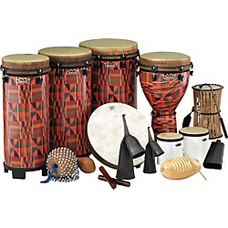 Remo World Music Drumming Packages (PP-WMDC-AA-)