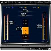 Waves Renaissance Compressor Native Software Plug-In Software Download