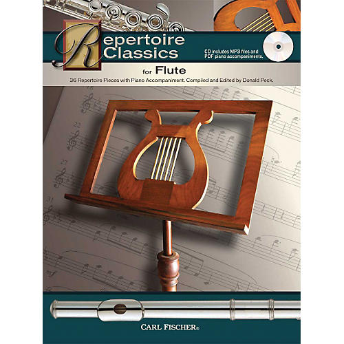 Carl Fischer Repertoire Classics for Flute (Book/ Data MP3 CD)-thumbnail