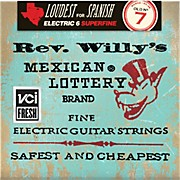 Dunlop Reverend Willy's Electric Guitar String Set - Extra Light