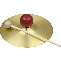 "Rhythm Band SE732S 7"" Cymbal with Knob and Mallet (SE732S)"