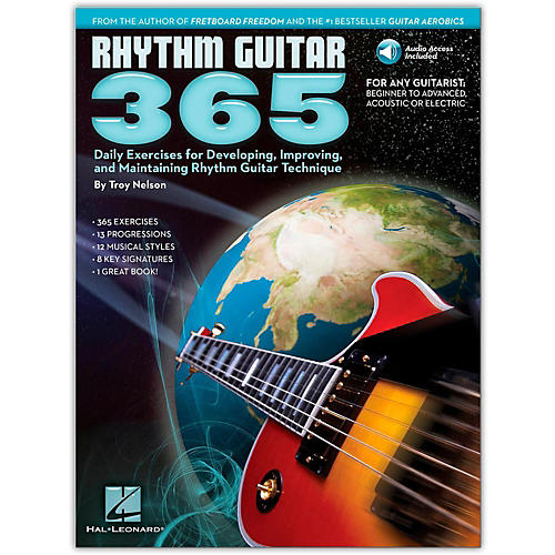Hal Leonard Rhythm Guitar 365 - Daily Exercises Book/Online Audio-thumbnail