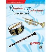Alfred Rhythm & Technique Band Supplement