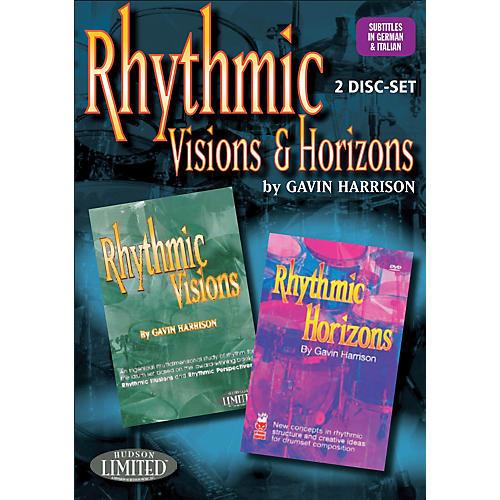 Hudson Music Rhythmic Visions & Horizons with Gavin Harrison 2 DVD Set-thumbnail