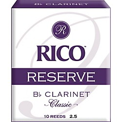 Rico Reserve Classic Bb Clarinet Reeds (RCT1025)