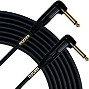 Mogami Right Angle to Right Angle Instrument Cable