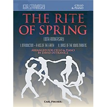 Carl Fischer Rite of Spring - Mvts. I & II for Cello & Piano (Book + Sheet Music)