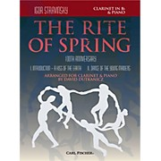 Carl Fischer Rite of Spring - Mvts. I & II for Clarinet & Piano (Book + Sheet Music)