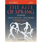 Carl Fischer Rite of Spring - Mvts. I & II for Flute & Piano (Book + Sheet Music)