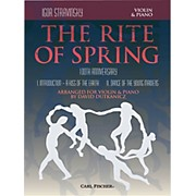 Carl Fischer Rite of Spring - Mvts. I & II for Violin & Piano (Book + Sheet Music)