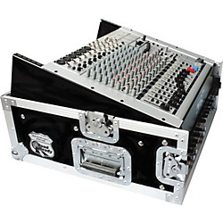 Road Runner 10U Slant Mixer Rack, 2U Vertical Rack (RRM2U)