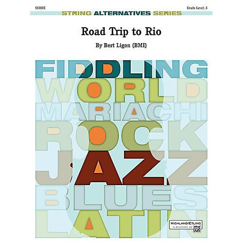 Alfred Road Trip to Rio String Orchestra Grade 3 Set-thumbnail