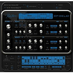 Rob Papen RP-Delay Plug-In Software Download (TSPAPEN107SN)