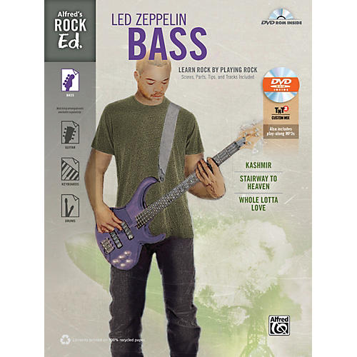 Alfred Rock Ed.: Led Zeppelin Bass Book & DVD-ROM-thumbnail