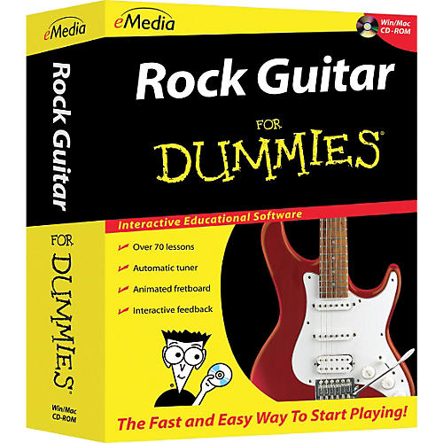 Emedia Rock Guitar For Dummies CD-ROM