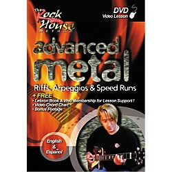 Rock House Advanced Metal - Riffs, Arpeggios and Speed Runs DVD (14027210)