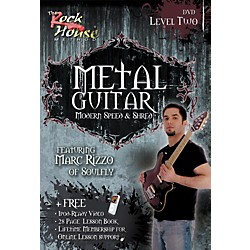 Rock House Advanced Metal Guitar DVD/Book (14027255)