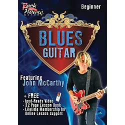 Rock House Blues Guitar Beginner Featuring John McCarthy DVD (14004675)