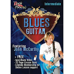 Rock House Blues Guitar Intermediate Featuring John McCarthy (14004679)