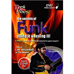 Rock House Funk: Using It and Fusing It with Leo Nocentelli 2 DVD Set (14027268)