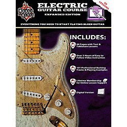Rock House House Of Blues Electric Guitar Course Expanded Edition Book/2-DVD Set. (14041783)