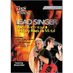 Rock House Lead Singer Vocal Techniques From Heavy Rock to Metal DVD Level 1 (14027239)