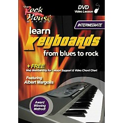 Rock House Learn Keyboards From Blues to Rock Intermediate DVD (14027246)