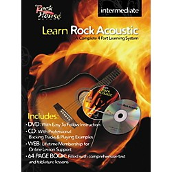 Rock House Learn Rock Acoustic Intermediate Book/DVD/CD Combo (14027264)